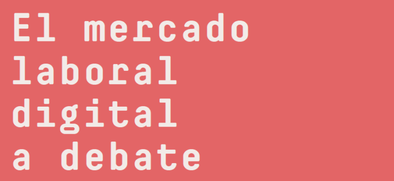 El mercado laboral digital a debate
