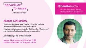 Breaktime to Think – Deusto Alumni Webminar – ¡El trabajo ya no es lo que era!